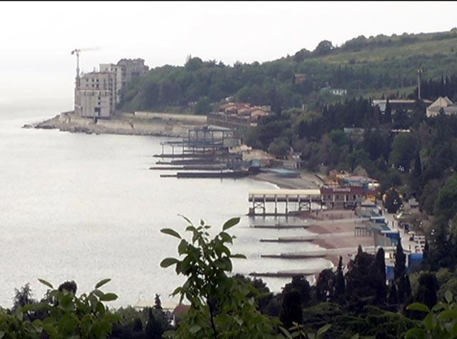 Пляжи Гурзуфа: не пройти, не заехать - «Курорты и туризм»