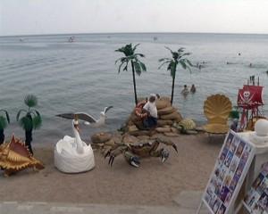 """Пляж у """"Отдыхающего Геракла"""""""