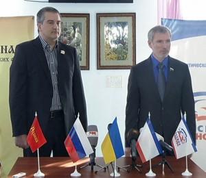 С.Аксенов и А.Журавлев. Фото: Центр