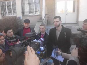 Суд над активистами в Симферополе