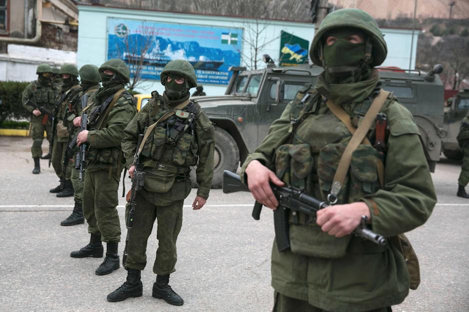 Оккупация Крыма. Начало марта 2014 года
