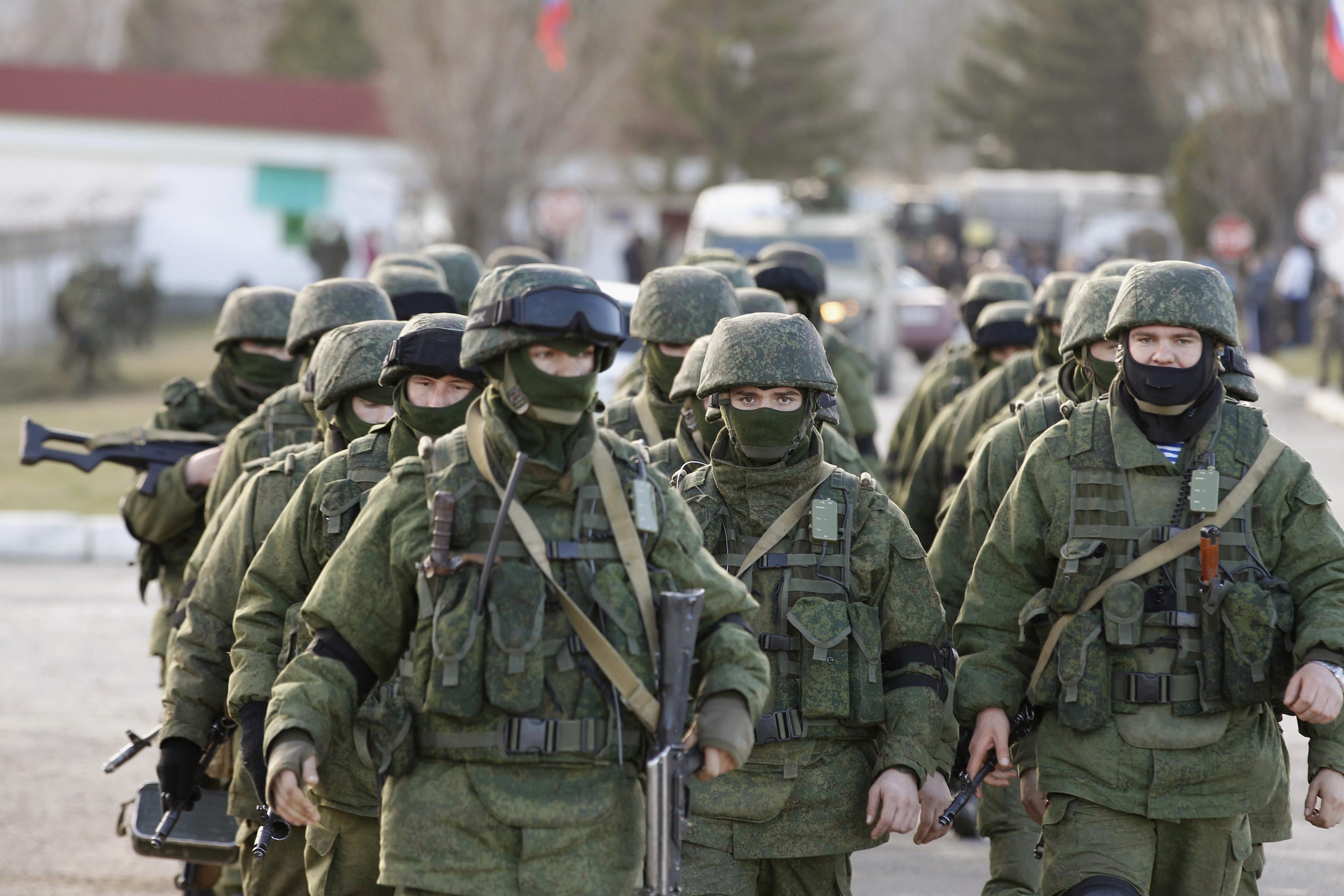 Оккупация Крыма Март 2014 года