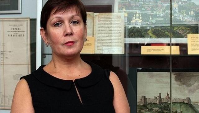 Директор Библиотеки украинской литературы в Москве Натаья Шарина. Фото: http: www.og.ru