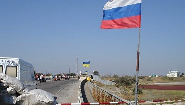 Украинские таможенники непропустили изКрыма 3-х житель Узбекистана