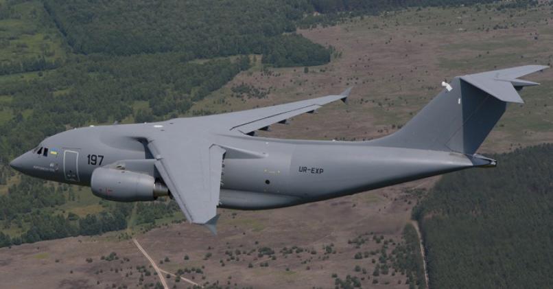 Транспортный самолет Ан-178. Фото: antonov.com