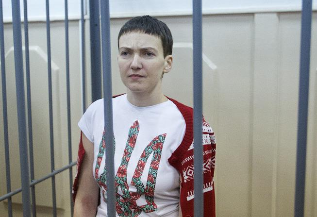 Экспертиза: Савченко взяли вплен доартобстрела и смерти корреспондентов