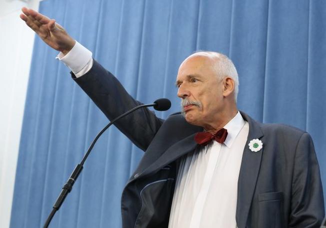 Депутат Европарламента от польши Януш Корвин-Микке. Фото: ghall.com.ua