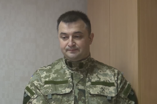 Руководитель Военной прокуратуры сил АТО Константин Кулик. Фото: УНИАН