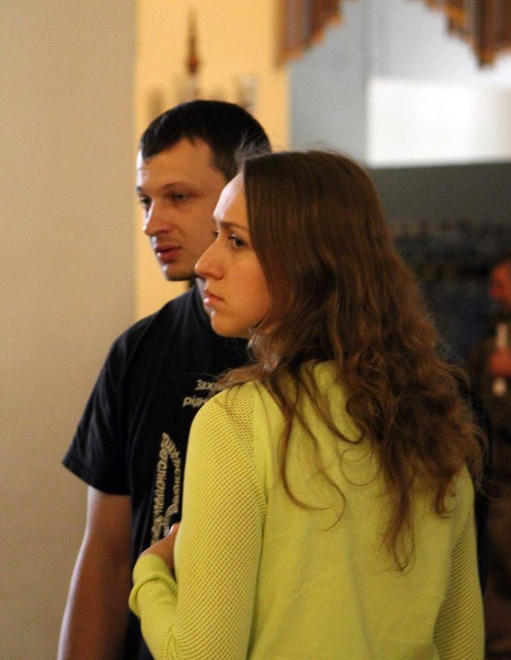 Станислав Краснов и Ольга Шелест