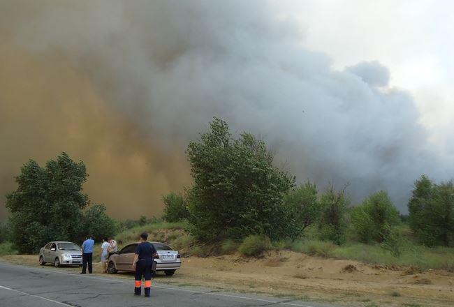 Пожар 2012 года фото Лига.NET