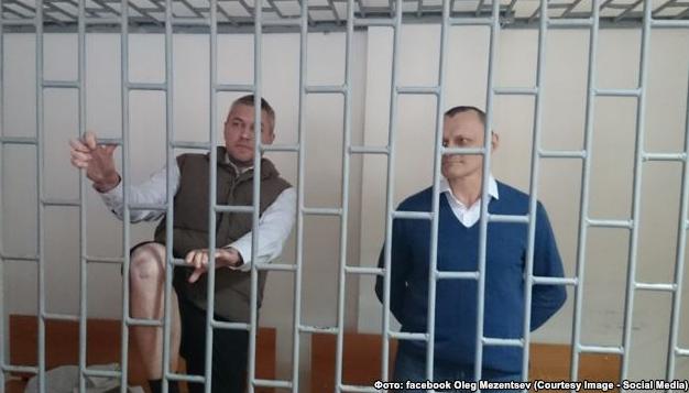 Украинцы Николай Карпюк и Станислав Клых в российском суде