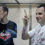 Александр Кольченко и Олег Сенцов на российском суде
