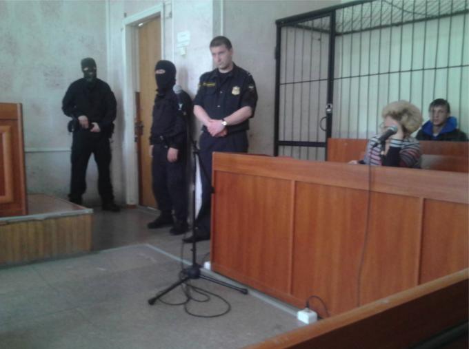 Арсен Джеппаров на суде
