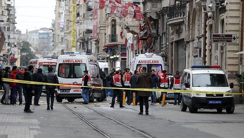 ВСтамбуле произошел теракт, пострадали 4 человека