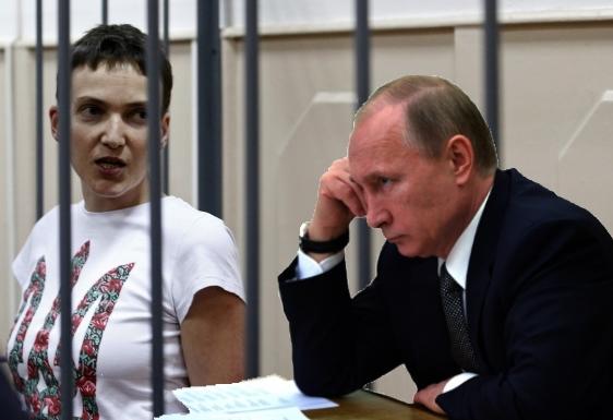 Савченко передала, что именно хотелабы сказать Путину