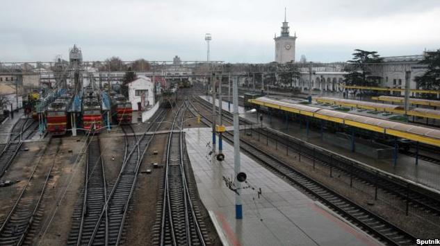 Оккупанты передадут имущество «Крымской железной дороги» всобственностьРФ
