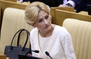 Глава комитета Госдумы РФ по безопасности и противодействию коррупции Ирина Яровая Фото: ТАСС