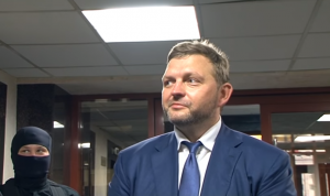 Губернатор Кировской области РФ Никита Белых после задержания
