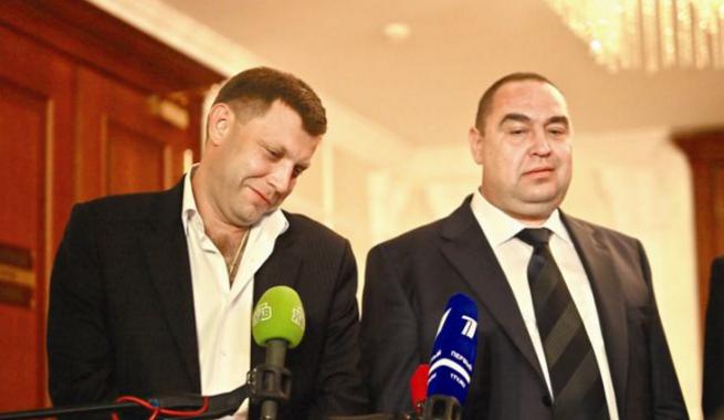 Александр Захарченко и Игорь Плотницкий Фото: rbc.ua