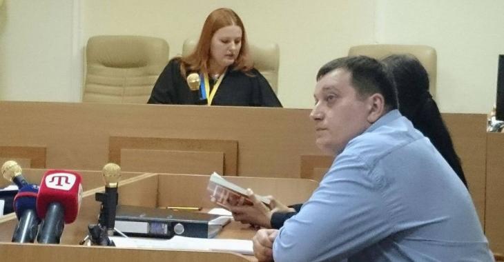 Сергей Хальзев на суде