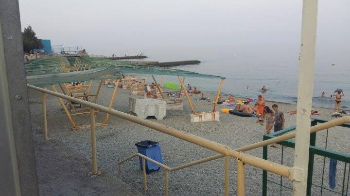 Пляж санатория «Ветеран»