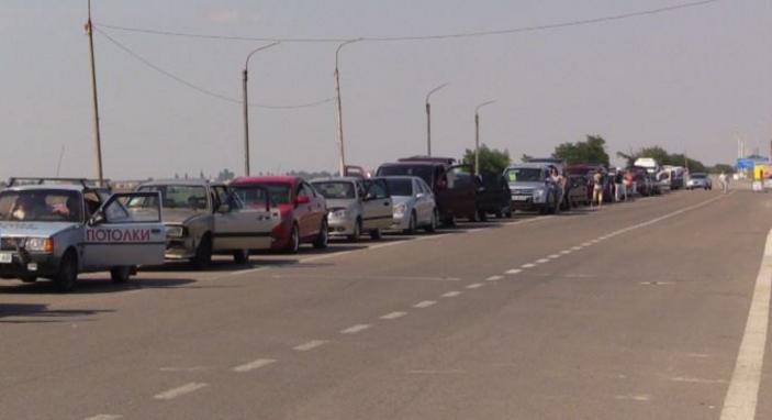 ВГоспогранслужбе проинформировали о восстановлении работы КПВВ «Чонгар» наадмингранице сКрымом