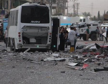 Два взрыва наюге Турции: 6 погибших, 54 раненых