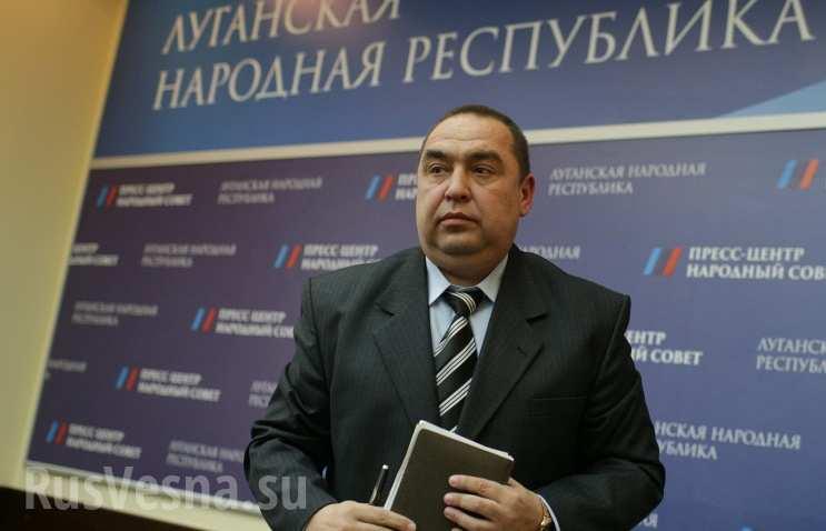 Главарь боевиков «ЛНР» Игорь Плотницкий