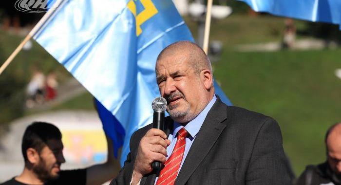 Глава Меджлиса крымских татар Рефат Чубаров Фото: qha.com.ua