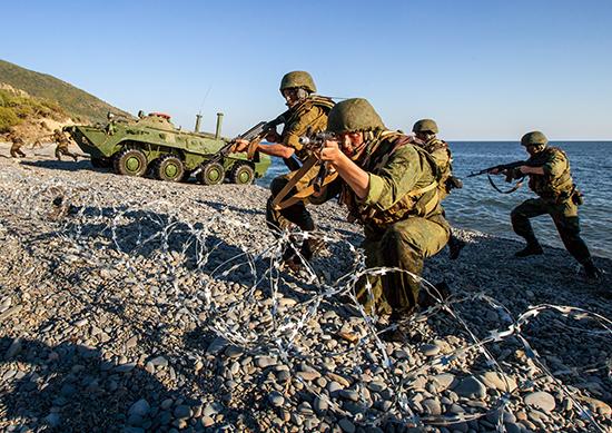 В Крыму высадился российский десант. Волшебный Партенит
