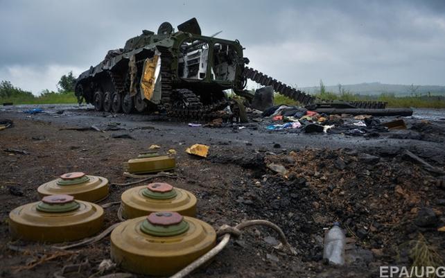 Засутки взоне АТО ранены четверо бойцов, еще двое— контужены