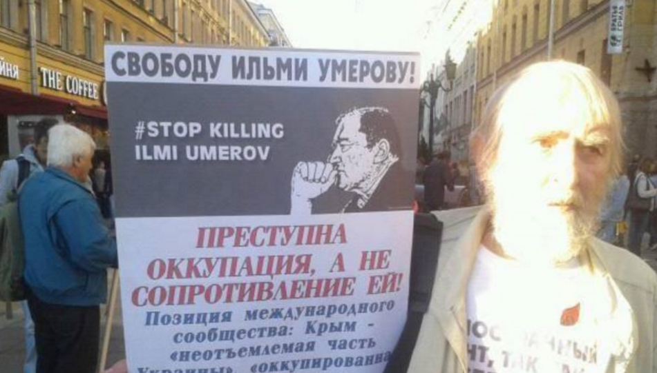 ФСБ может отпустить Умерова 7сентября,— дочь активиста