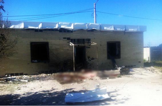 ВАвдеевке произошел взрыв наавтобазе: есть жертвы