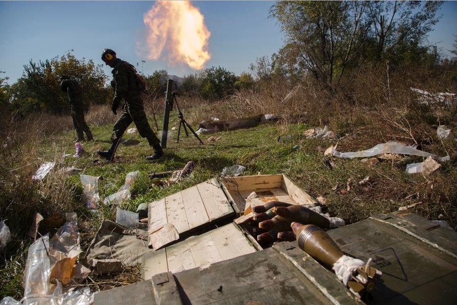 Взоне АТО боевики продолжают использовать запрещенное вооружение