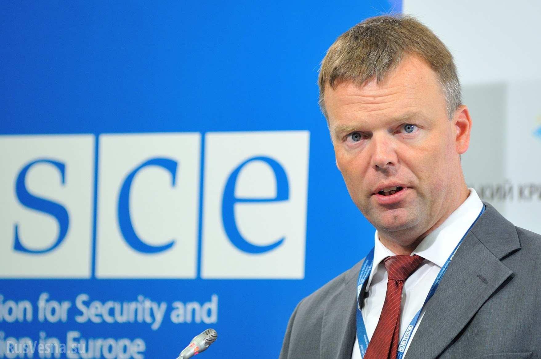 ОБСЕ будет контролировать соблюдение договоренностей оразведении сил исредств наДонбассе