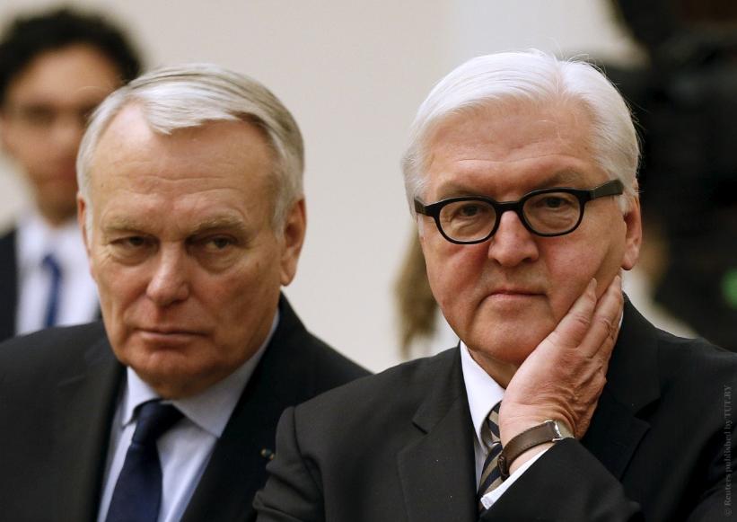 Для Донбасса руководителя МИД Франции иГермании выдумали «дорожную карту»