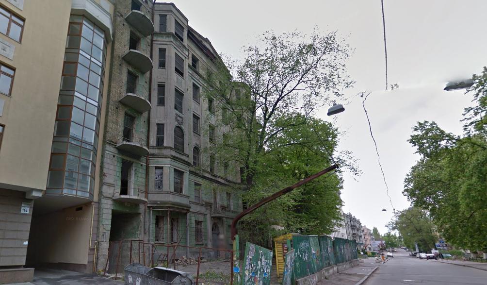 Дом по ул. Ивана Франко, 17, в Киеве Фото: google.com.ua/maps/
