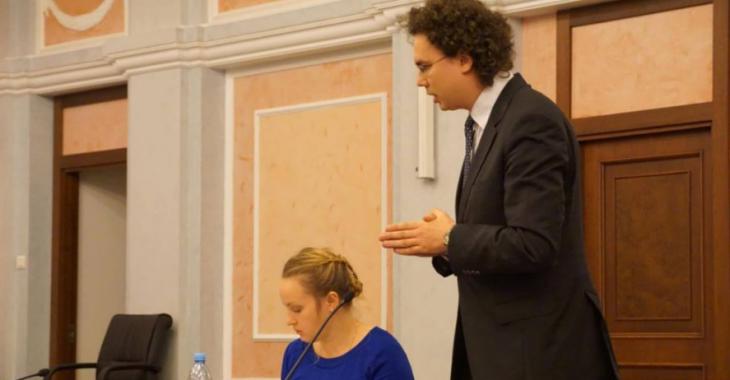 Адвокат Кирилл Коротеев Фото: RFE/RL