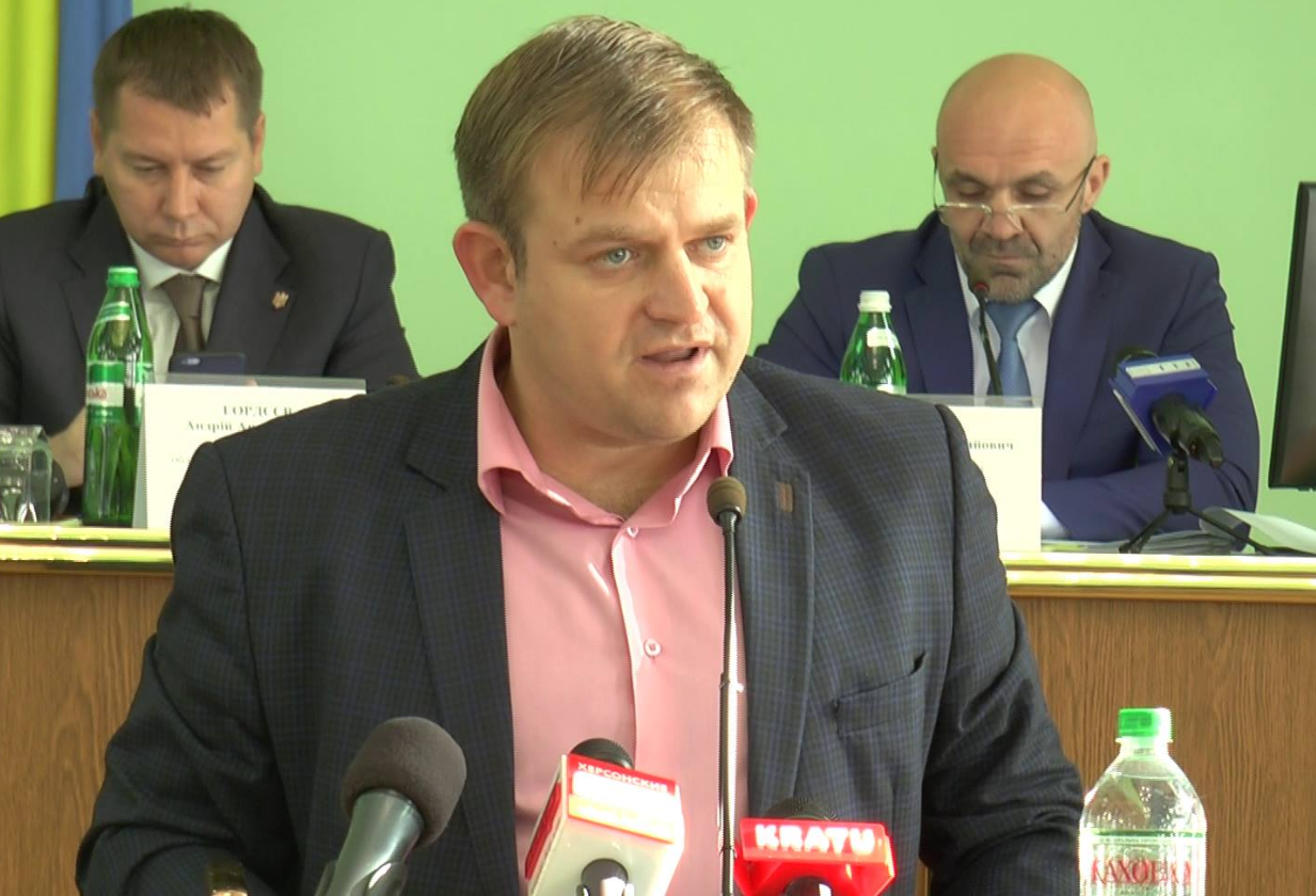 И.о.заместителя губернатора Александр Адамчик