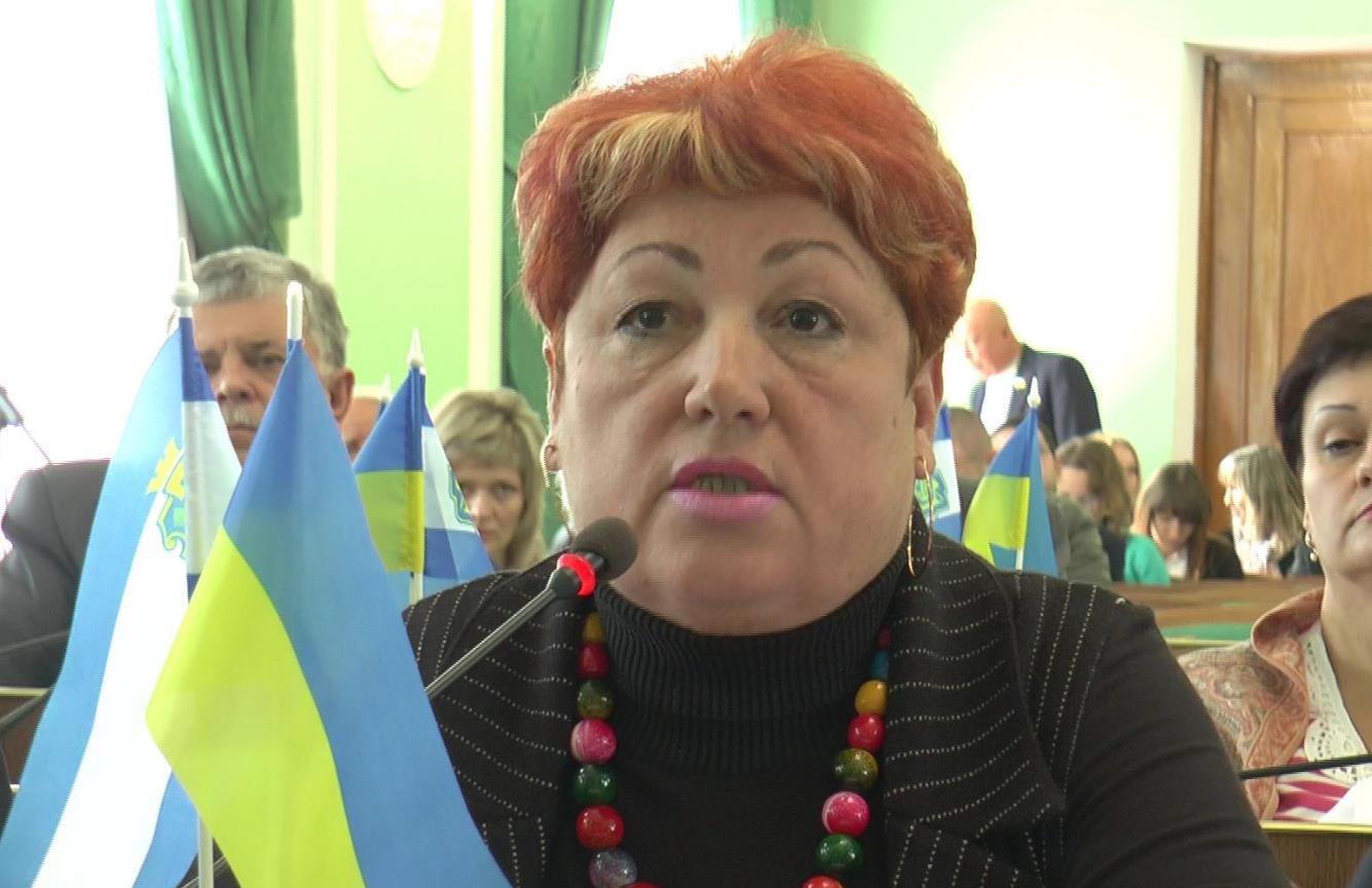 Депутат Херсонского облсовета Галина Толубец