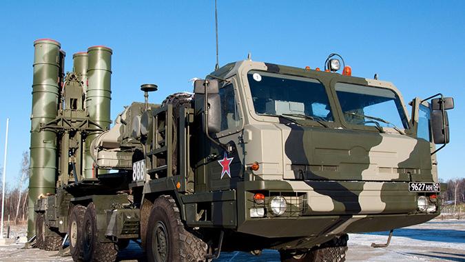 Российский ЗРК С-400 «Триумф»