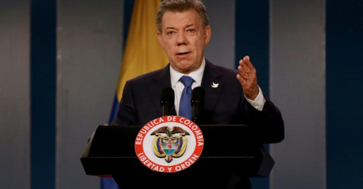 Президент Колумбии Хуан Мануэль Сантос Фото: Reuters