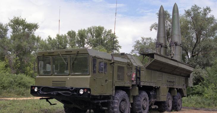 Российский оперативно-тактический ракетный комплекс «Искандер-М»