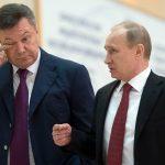 Виктор Янукович и президент РФ Владимир Путин
