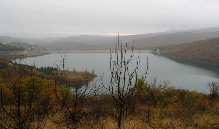 Як обміліли водосховища Крима (ФОТО, ВІДЕО) - фото 2