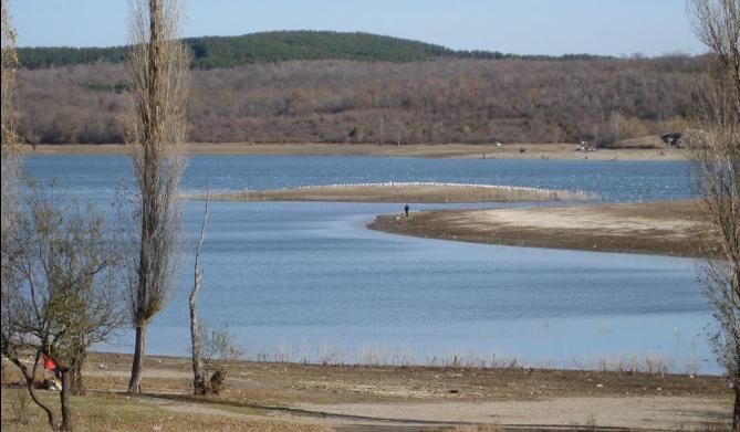 Як обміліли водосховища Крима (ФОТО, ВІДЕО) - фото 5