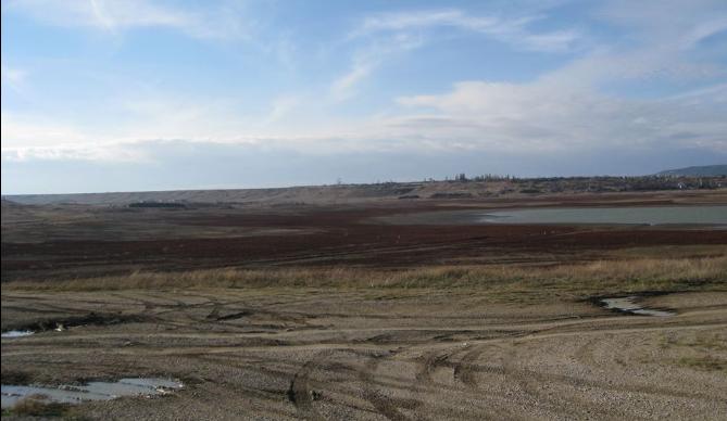 Як обміліли водосховища Крима (ФОТО, ВІДЕО) - фото 6