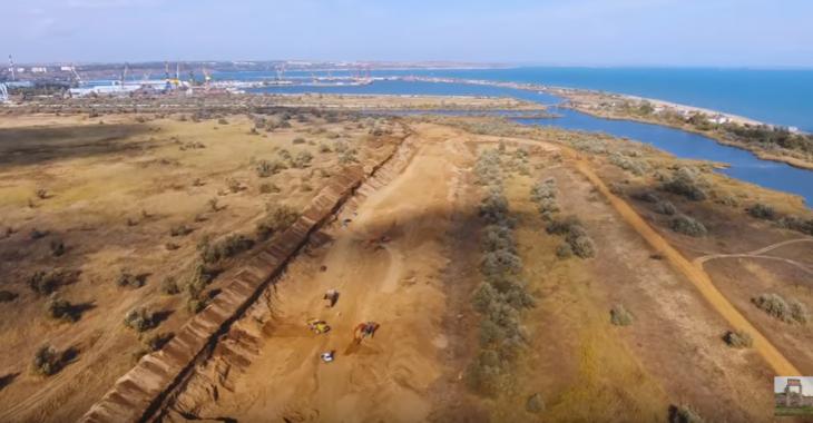 Керченский мост строят из ядовитого песка. Волшебный Партенит