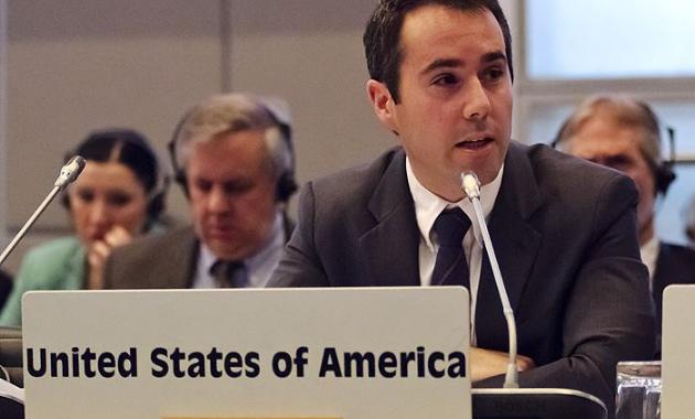 Представитель США при ОБСЕ Даниэль Бэер Фото: сайт USOSCE