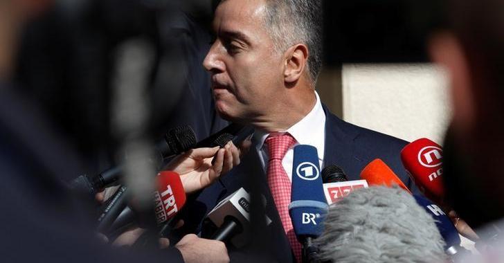Премьер-министр Черногории Мило Джуканович Фото: Reuters